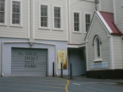 Though Shalt Not Park