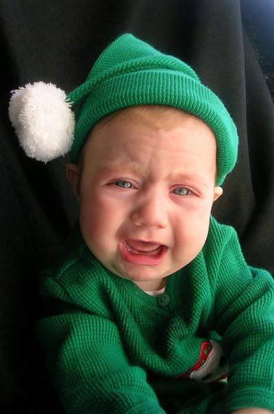 Unhappy Elf