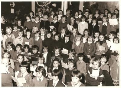 1970's school children
